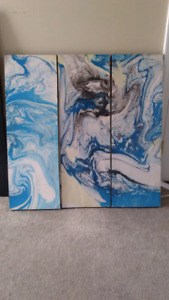3 Piece Painting $100OBO!!