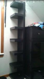 Stand up shelf
