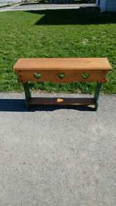 Tall couch table $100 O.B.O