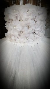 Beautiful White Tutu Dress