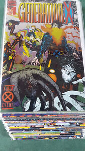 Generation X Comic Book Collection (X-Men)