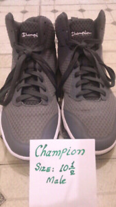 CHAMPION Running Shoes. Male. Size 10.5. New Condition