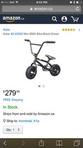 Mini BMX bike (for adult or youth use)