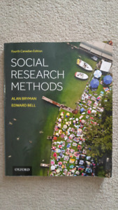 Social Research Methods 4th (Fourth) Canadian Edition