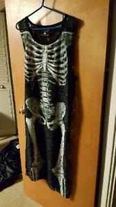 Killstar skeleton lace maxi dress