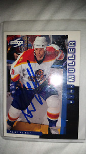 Hockey Cards from 90s some signed