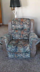 Cabela's camouflage recliners