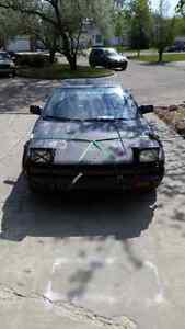 1986 Toyota MR2 - Must Sell NOW! Project/Parts! Runs and Drives!