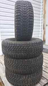 215/60R15 firestone winter force tires