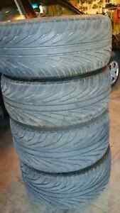Staggered tires 2-285/30/20, 2-255/35/20