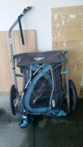 Bicycle baby chariot/trailer