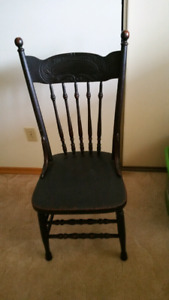 Pressed Back Chairs