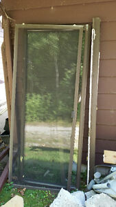 Sliding Patio Door with Screen