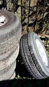 Jeep Sport Rims & Tires 85. $ ea. 235/70/R16 90% thread left Cambridge Kitchener Area image 2