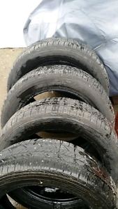 4 Goodyear P215 55 R17 tires for sale