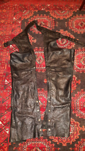 Screamin' Eagles Womens Leather Chaps