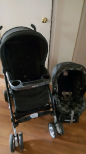 PEG PEREG0 TRAVEL SYSTEM WITH 2 BASES AND WINTER STROLLER MUFF