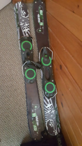 Snowboard snow blade equipment