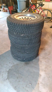Nordic Wintertrak studded winter tires