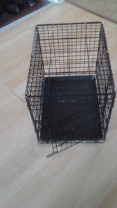 "Dog crate, 24""×16.5""& 21 "" high"