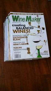 """Wine Maker"" Magazines"