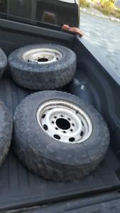 Lt245/75R16 Tires & Rims