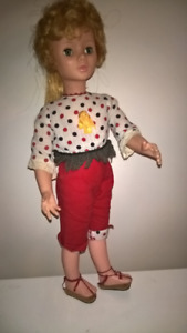 Antique Moving Doll