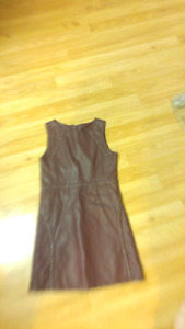 Girl's size 10 leather dress