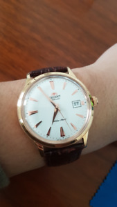 Orient Bambino V3 Rose Gold