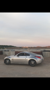 Nissan 350Z Coupe (2 door) with under 98000 km