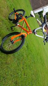 Orange bike for sale
