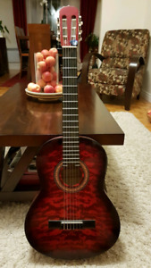 Jerzey classical guitar with Fishman pre-amp
