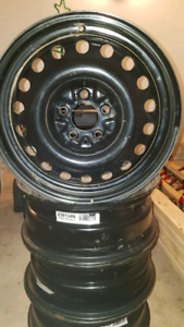 "17"" Steel winter wheel rims"