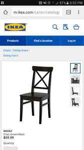 IKEA Dining table and 6 chairs Windsor Region Ontario image 5