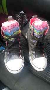 Size 13 converse high tops Kitchener / Waterloo Kitchener Area image 1