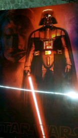 Star Wars revenge of the Sith Lithographic poster