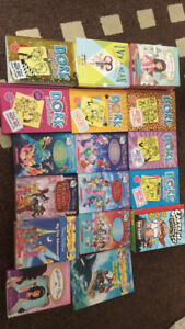 Girls book collection for sale-ages 8-12 - like new condition