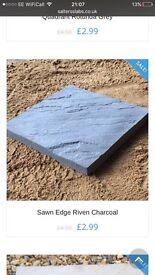 Patio/paver/paving pathways slabs ��11 per meter square ��2.20 per slab