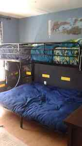 Bunk bed Futon Combo
