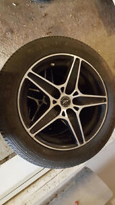 """15"""" Tires and Wheels off of a VW Golf"""