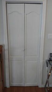 Porte pliante de 30 x 80