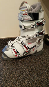 Nordika Olympia Womens Downhill Ski Boot White SM 8