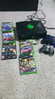 Xbox w/ two controllers and games included