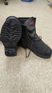 STC IRON STEEL TOE WORK BOOT BLACK