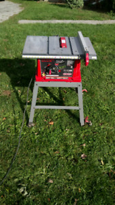 10 inch 13 amp craftsman table saw