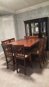 Dining table with 8 chairs $199