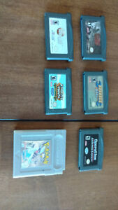 Lot jeux Game boy