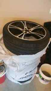 Rims and tiers like a bew