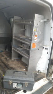 selling shelving and roof rack for ford transit