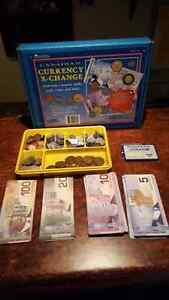 Play Money. Child Education Tool. Canadian Currency.
